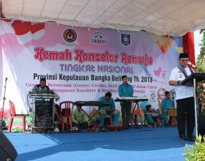Pembukaan Oleh Gubernur Kepulauan Bangka Belitung